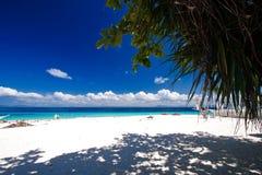 Paraíso tropical de la isla Imágenes de archivo libres de regalías