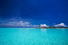 Paraíso tropical do console Imagem de Stock Royalty Free