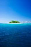 Paraíso tropical do console Fotografia de Stock Royalty Free