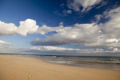 Paraíso tropical, praia celestial, Foto de Stock Royalty Free