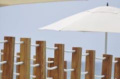 parasol γεφυρών ξύλινο Στοκ Φωτογραφία