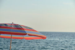 parasol θάλασσα Στοκ Εικόνα