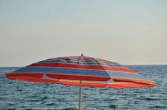 parasol θάλασσα Στοκ Εικόνες