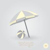 Parasol Fotografia de Stock Royalty Free