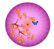 Parasol ilustração stock