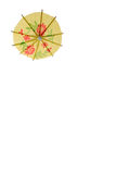 Parasol amarillo Foto de archivo