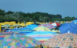 Parasol on the beach Royalty Free Stock Photo