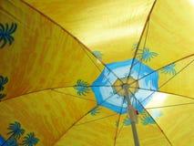 Parasol on beach Stock Photography
