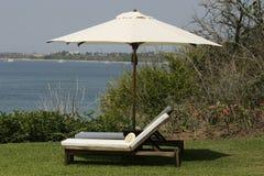parasol cieni Obraz Royalty Free
