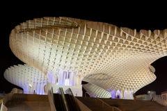 Parasol de Metropol en Plaza de la Encarnación Imagenes de archivo