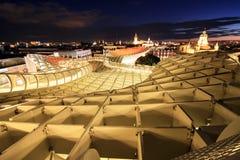 parasol de metropol en plaza de la encarnacin sevilla espaa imgenes de archivo libres