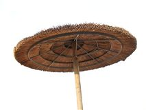 Parasol de paille Images libres de droits