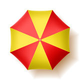 Parasol de playa Imágenes de archivo libres de regalías