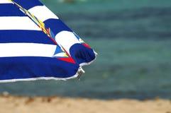 Parasol de playa Fotos de archivo libres de regalías