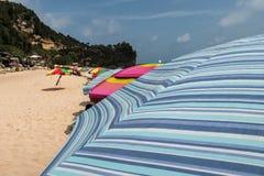 Parasol de playa de Indrayanti Fotografía de archivo
