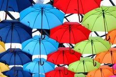 Parasol, deszcz Fotografia Stock