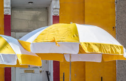 Parasol do terraço foto de stock royalty free