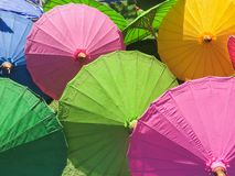 Parasol handmade zdjęcia stock