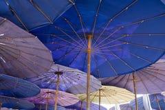 Parasol i jesteśmy plażowi Obraz Stock