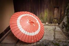 Parasol japonés Imágenes de archivo libres de regalías