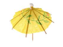 parasol koktajlowym. obrazy royalty free