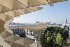 Parasol Metropol άποψης που βρίσκεται στην πλατεία Encarnation, Sevill Στοκ εικόνα με δικαίωμα ελεύθερης χρήσης