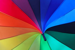 Parasol rainbow Royalty Free Stock Images