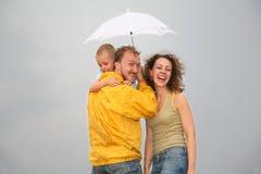 parasol rodziny obraz royalty free