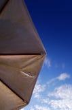 Parasol and the sky Stock Photos
