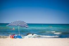 Parasol in Spanje Royalty-vrije Stock Fotografie