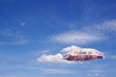 parasol wakacyjne Zdjęcia Royalty Free