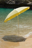 Parasol in water Stock Photos