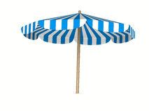 Parasol on white background Royalty Free Stock Image