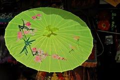 Parasole cinese Fotografie Stock Libere da Diritti