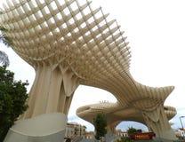 Parasole di Metropol, la struttura di legno impressionante in Siviglia Fotografia Stock