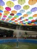 Parasole instalacyjni w Kot Tua, Dżakarta Zdjęcia Royalty Free