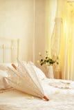 Parasole nuziale Fotografie Stock