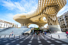 Parasole Siviglia Spagna di Metropol Fotografie Stock