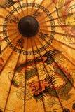 Parasole tailandese Fotografie Stock Libere da Diritti