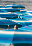 parasoles Imagen de archivo libre de regalías