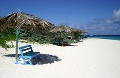 Parasoles de playa Imagen de archivo