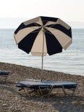 parasolka na plaży Obraz Stock