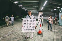 Parasolowa rewolucja w Hong Kong 2014 Zdjęcie Stock
