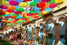 Parasolowy festiwal Obraz Stock