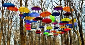Parasolowy niebo Fotografia Stock