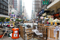Parasolowy ruch w Hong Kong Zdjęcie Stock