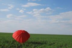 Parasolowy serce Zdjęcia Royalty Free
