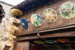 Parasolowy sklep Obrazy Royalty Free