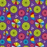 Parasolowy tło Zdjęcia Royalty Free