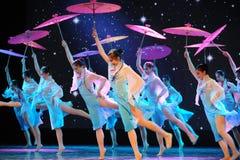 Parasolowy taniec Zdjęcie Stock